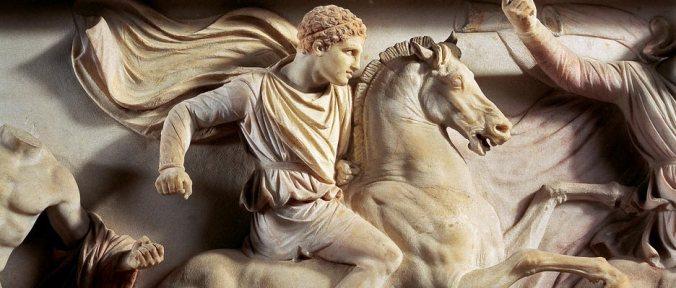 alexander on horse